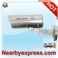Dummy Waterproof Camera Security with Flashing LED Light (motion detection) (88-36306-002)