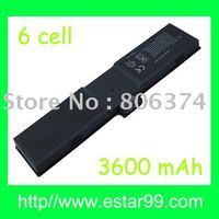 Free shipping &3600mAh Battery for Dell Latitude L400 LS LS400 942RV 2834T