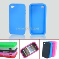 skin case bestbuy --100pcs For 4G 4th 4TH cell phone silicone