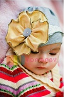 Mix order new style wholesale free shipping fashion baby hat cute infant cap children hat infant hats headress