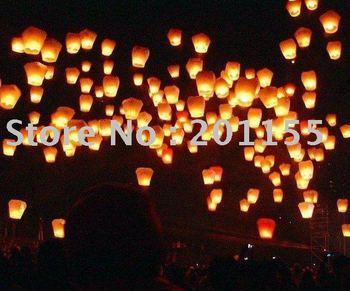 5pcs/lot,Christmas SKY UFO Balloon Kongming wishing Lanterns Flying Light Halloween Lights,Chinese KongMing Lantern