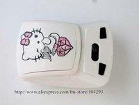 Free shipping 10pcs/lot Hello Kitty wireless optical mouse KT-0303