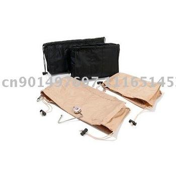 Kangaroo Keeper Free shipping The Incredible Bag Organizer BLACK and TAN retail package
