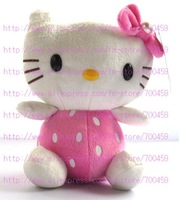 Hot sale! 12pcs Fruit Series hello kitty Children's lovely doll soft Toy Plush Toys A4+Free Shipping