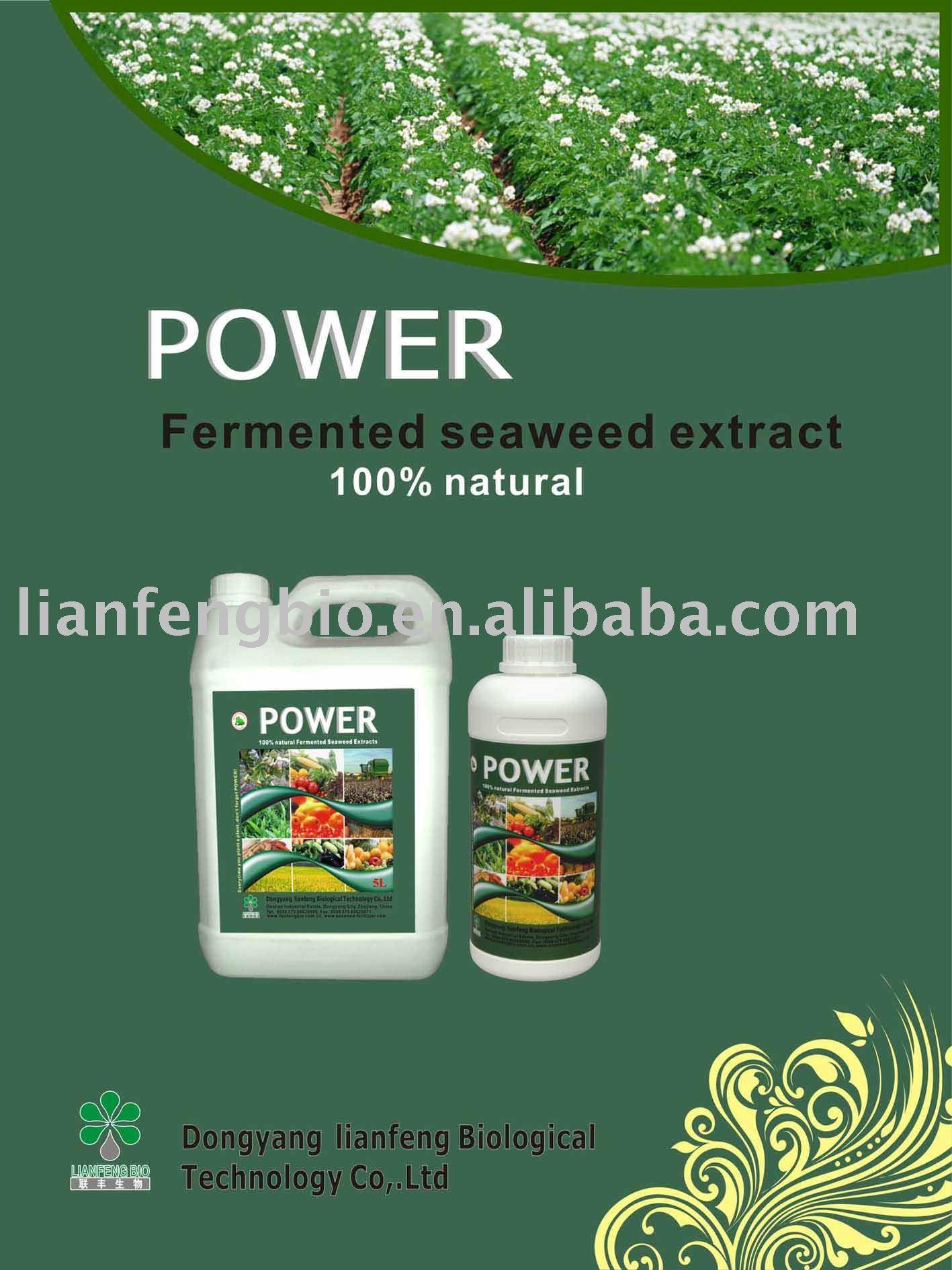 Natural organic seaweed Liquid fertilizer(China (Mainland))