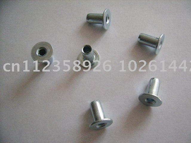 totalmente tubular em aço zincado rebite 8x15mm & Rivet para séries lona de freio e embreagem para séries Rivet & Brass Rivet(China (Mainland))
