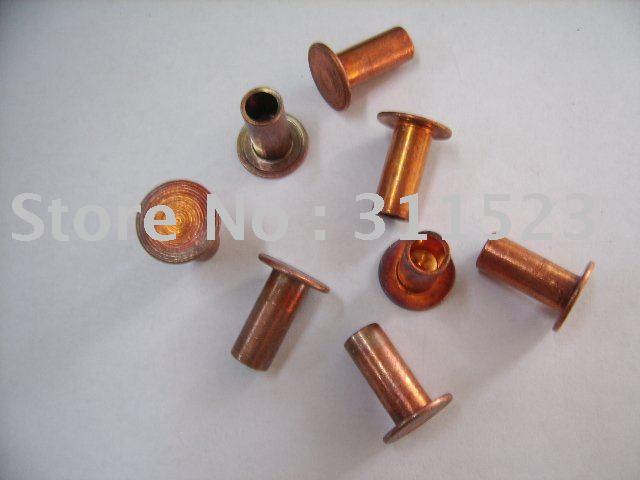 Semi tubular rebites de cobre aço 8 x 18 mm & Rivet para séries lona de freio e embreagem para séries Rivet & Brass Rivet(China (Mainland))