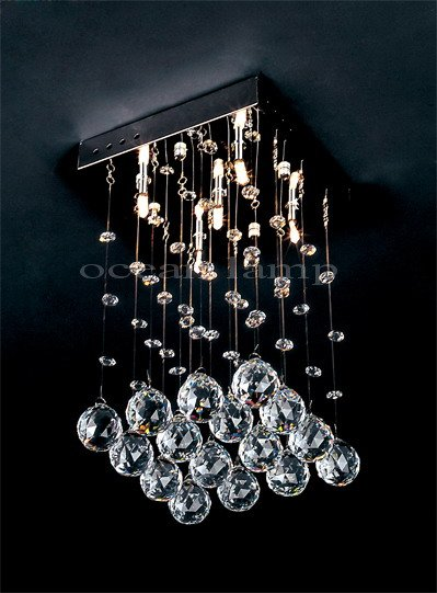 modern crystal ceiling light OM756 L20 W20cm(China (Mainland))