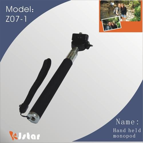 Z07-1 extendable photo best monopod free shipping(China (Mainland))
