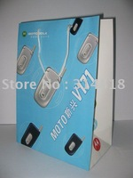 OEM cellphone paper bag/gift packing bag whole sale/retail free sample availabled