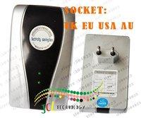 Free shipping  Household -type Power Saver with 18KW  Useful Load/Single Phase 18KW Power Saver with UK.EU.USA. AU socket