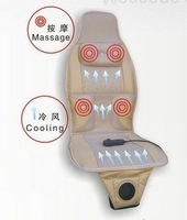 massage + blowing + waist and neck massage!Car&Chair Back Seat massage Wholesale and Retail, ,Cool air massage cushion