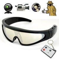 Free Shipping 1280 x 720 Resolution Eyewear Camera Sunglasses with 5 Mega Pixels