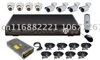 Wholesale and Retail,3G mobile phone monitoring, 8 channel DVR Surveillance system DVR KIT with 1Tb HDD