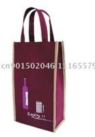non woven promotion bag/logo printing/MOQ 500pieces /80gsm fabric
