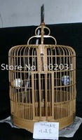 Free shipping --The latest quality 100% guarantee shelves bamboo Bird cage (black, white, brown)