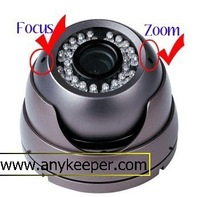 1/4 Sharp CCD,420TVL,4-9mm Varifocal Lens,36pc F5 LED,25-30m Night Vision Distance
