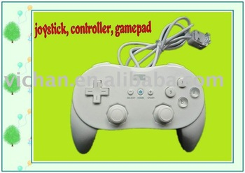 pro Classic controller for wii, game joystick for wii