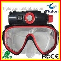 2011 sale free shipping, Underwater Waterproof diving mask glasses DVR-014