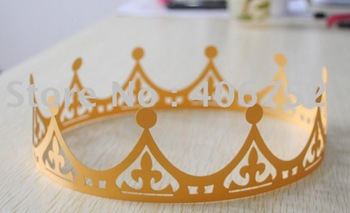 "birthday party decoration"" paper crown MOQ 300 pcs"