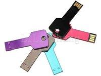Free Shipping Waterproof 4G Key shape Creative USB 2.0 Memory Flash Stick Drive U disk 4GB
