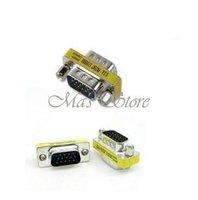 15 Pin VGA SVGA Adapter Monitor Gender Changer HD15 M/M