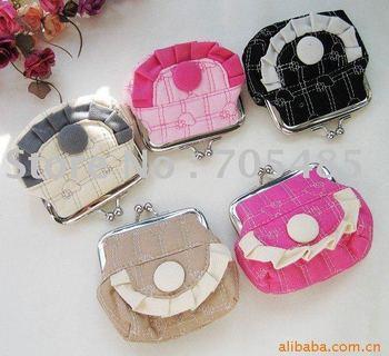 TieJiaZi clip packages wholesale cloth art drape 9X8CM wallet