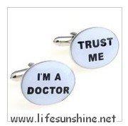FreeShipping-- Doctor Cufflinks,Cufflinks,Cufflinks for Men,Customized Cufflinks,Designer Cufflinks,Novelty Cufflinks,