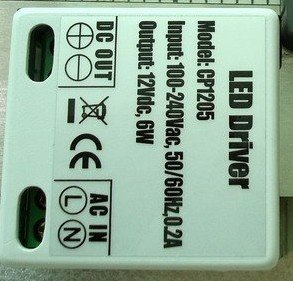 3-7*1W LED Driver, constant current,AC100-250V input