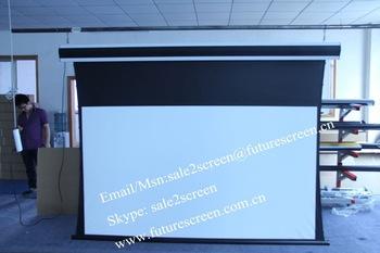 "HOT SALE 92""tab-tension screen with projector screens"