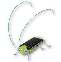 Brand new,free shipping,100pcs/lot Solar toys,novelty item Educating Solar Grasshopper,Solar locust