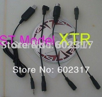 USB XTR flight Simulator Cable Use in normal transmitter and 2.4G TX for  JR Futaba Walkera KDS KM ST free sh supernova sale