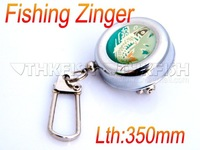 New Arrival!! Fly 350mm 13inch Fishing Zinger Clip Carabiner Tackle Zingers Retractor Accessory