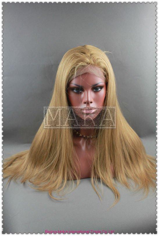 натуральный мелированный парик