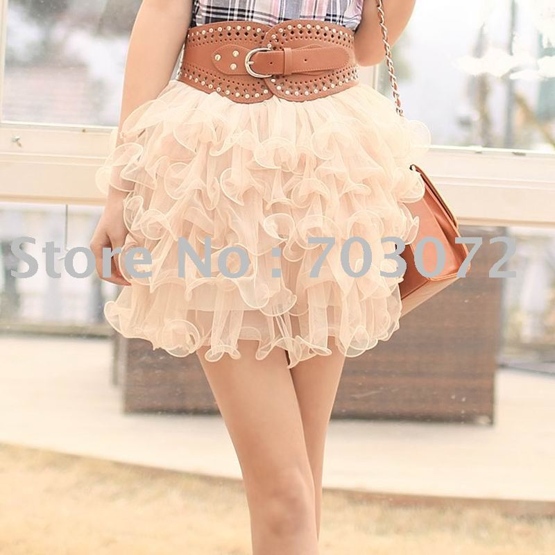 Free shipping!short skirt/new lace cake skirt/lovely skirt/sexy skirt/suit evey season(China (Mainland))