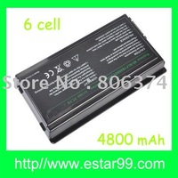 Free shipping&6CELL Battery for ASUS F5R F5V F5VI F5VL X50V X50VL A32-F5