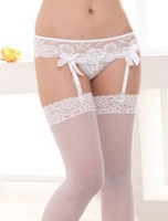 Retail wholesale 3 pairs free shipping Soft sexy Fashion Over Knee silk Socks Thigh High women Cotton Stocking Thinner P6729