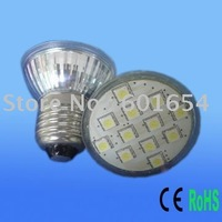 FREE SHIPPING 12leds SMD5050 1.8W LED Bulb Light