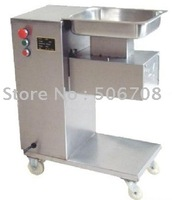 Free shipping~220v / 110V QE meat cutter with pulley, meat slicer, meat cutting machine/Meat processing machinery