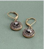Серьги висячие Fashion Elegant woman crystal Earring Jewelry Earring