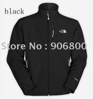 Wholesale 2013 fashion Apex Bionic Black  men Windproof  waterproof outdoor Jackets free shipping
