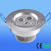 FREE SHIPPING 3x3W LED Downlight Light
