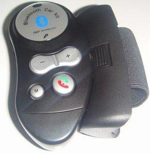 Bluetooth Handsfree Car Kit MIC Speaker Steering Wheel