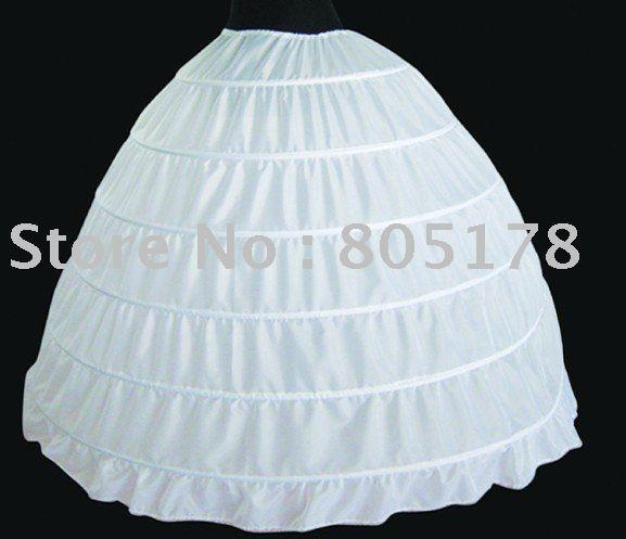 wedding dress hoop wedding accessories 6 hoop skirt without gauze bandage