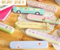 Free Shipping/New lovely cartoon printed iron Pencil box/Tin pencil case/iron storgae box/iron case/Fashion gift/Wholesale(China (Mainland))