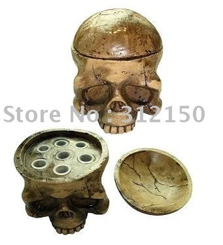 free shipping Skull Type Hard Resin Tattoo Ink Cup/caps Holder  tattoo accessories