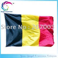 Free Shipping NEW 100% Polyester Printed 90x150cm Belgium National Flag