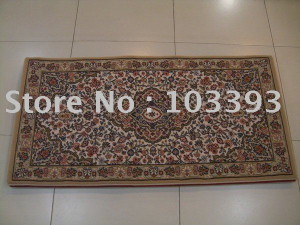 Free shipping 100% PP rug mat 60*115cm calabash silk and Paypal will be ok(China (Mainland))