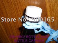 CB-WB02 SPORT / SODA / TRAVEL BOTTLE CARRIER, BOTTLE HOLDER, HAND FREE, PLASTIC BOTTLE SNAP HOOK WITH ADJUSTABLE SHOULDER STRAP