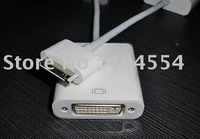 10pcs For iPad To DVI Adapter Dock Connector To DVI Adapter For iPad Free Fast Shipping